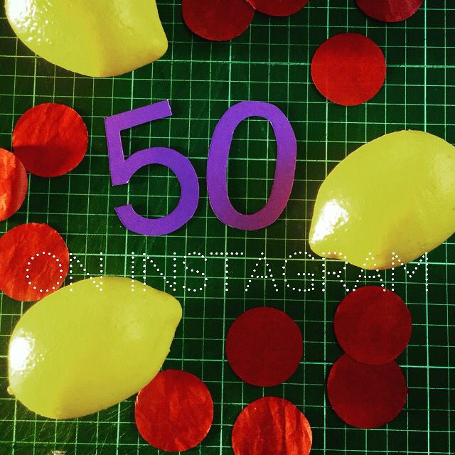 Checked in this morning and found we'd reached 50 followers! Thanks guys!