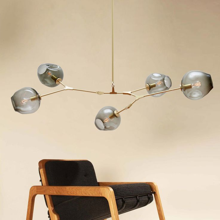 Lindsey Adelman bubble glass pendant lamp Branching Bubble Modern Chandelier Light 3/5/7/8/9/11 heads -- Click image to review more details.