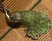 .: Peacock Necklaces