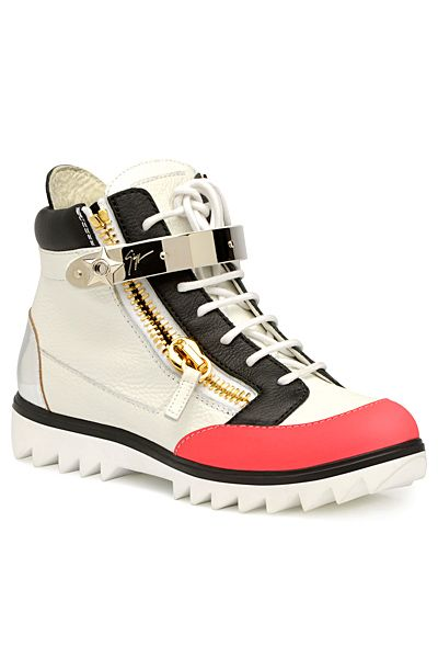 Giuseppe Zanotti - Shoes - 2014 Spring-Summer... Hhhmmmm ... I think I might actually like these..