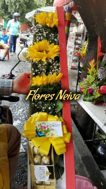 Hermosos detalles con Flores Neiva - Colombia comunicate 3153335017 o 3124807776