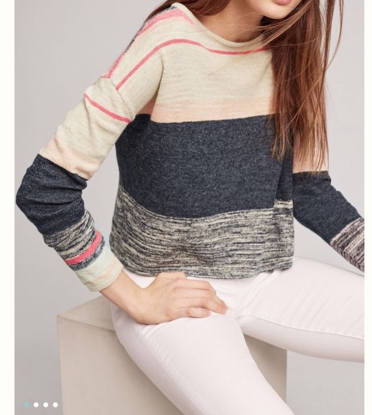 NWT $88 ANTHROPOLOGIE Samedi Pullover Sz XS/ SMALL Sweater By MOTH Free Shipping  | eBay