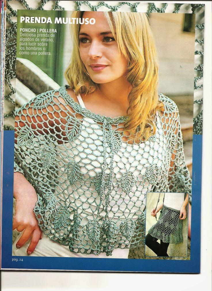 Hola chicasaquíles traigo una muy interesante revista llena de Tejidos muy interesantes y muy lindos espero que se animen a tejer porque...