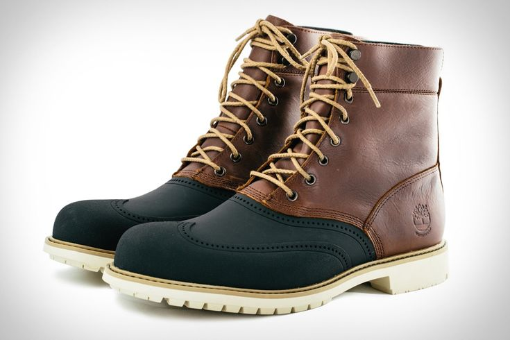 It's not unusual for guys to carry around a pair of boots in case bad weather hits, while wearing normal, ostensibly more stylish shoes. With these Timberland Stormbuck Waterproof Boots, there's no need, as their combination of style and versatility...