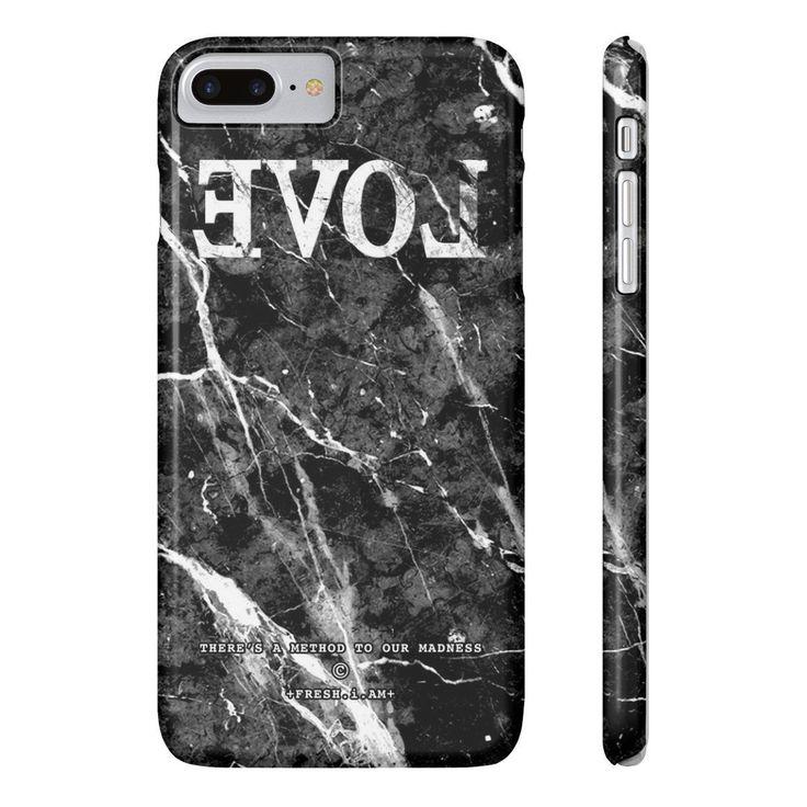 EVOL BLACK MARBLE iPhone cases