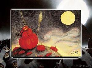 Pumpkin Patch, Limited Edition Print, Canvas
