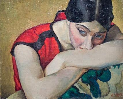 """Suzy"", 1923, by Edwin Holgate"