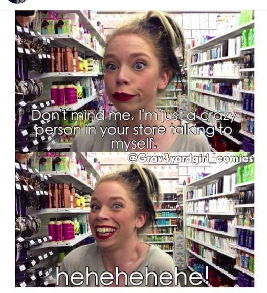 Haha #grav3yardgirl