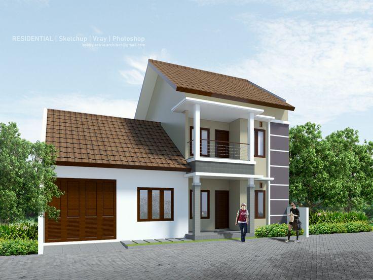 Jambusari House.  Design by Aditya Rahmadi Render and Visual by Bobby Satria
