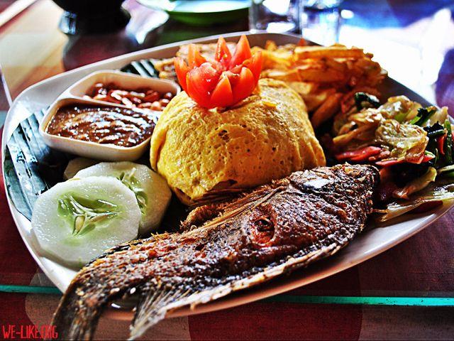 #nasi #campur #bali #food #indonesia