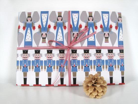 Geschenkpapier - Nussknacker-50 x 70 cm