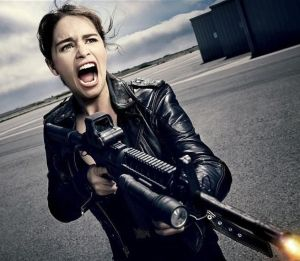 Terminator 5 new pics of Arnie, Emilia Clarke & Matt Smith
