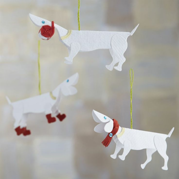 Ornaments crate and barrel and dogs on pinterest for Crate and barrel dog
