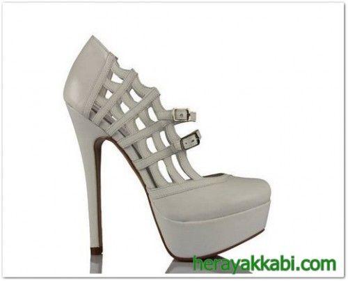 En Güzel Gelin Ayakkabı Modelleri 2014