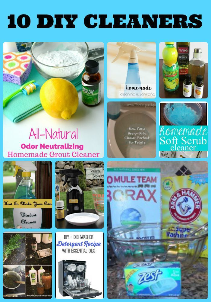 10 DIY Cleaning Products You Can Make At Home. Homemade Grout  CleanerFurniture ...