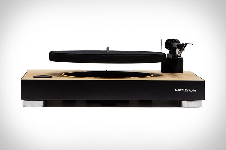 Okay, so technically speaking the whole turntable doesn't levitate. Just the platter of the Mag-Lev Audio Levitating Turntable floats in the air, holding your favorite albums in a friction-free spin above the main unit. It uses patented technology to maintain...