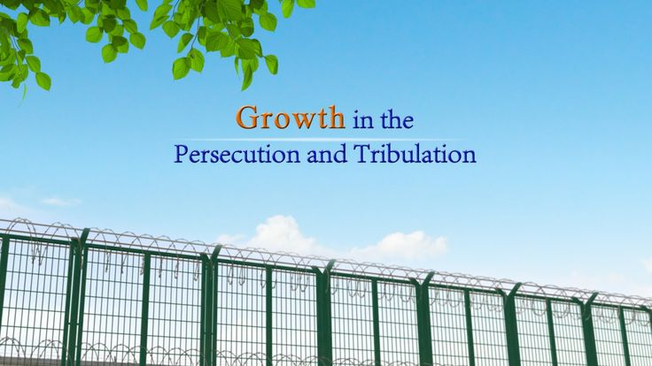 "Blessing of God Behind Hardship | Short Film ""Growth in the Persecution ..."