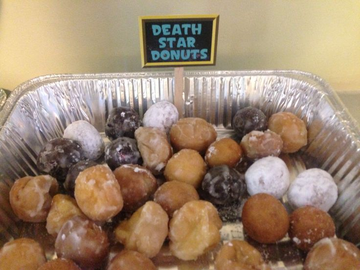 Death Star Donuts