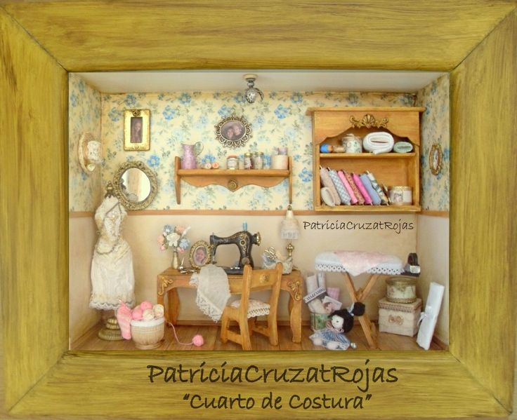 119 best CUARTOS DE COSTURA con Miniaturas images on Pinterest ...