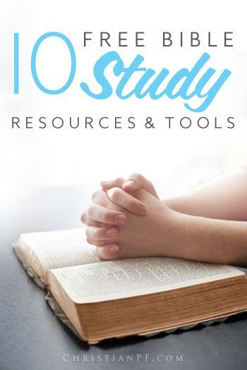 10 free bible study tools and resources
