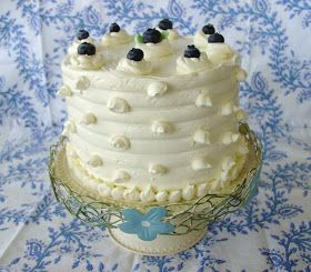 It's time again for The Cake Slice Bakers to reveal their sky high creations! And this months cake is Lemon Blueberry Marble Cake --a highl...