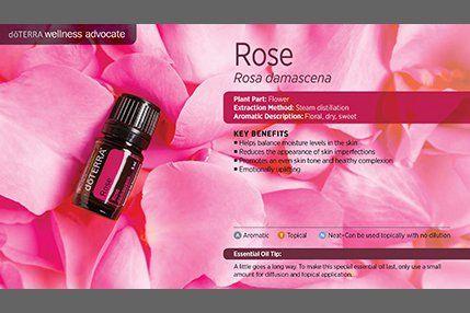 doTerra Power Point Image - Single Oil - Rose
