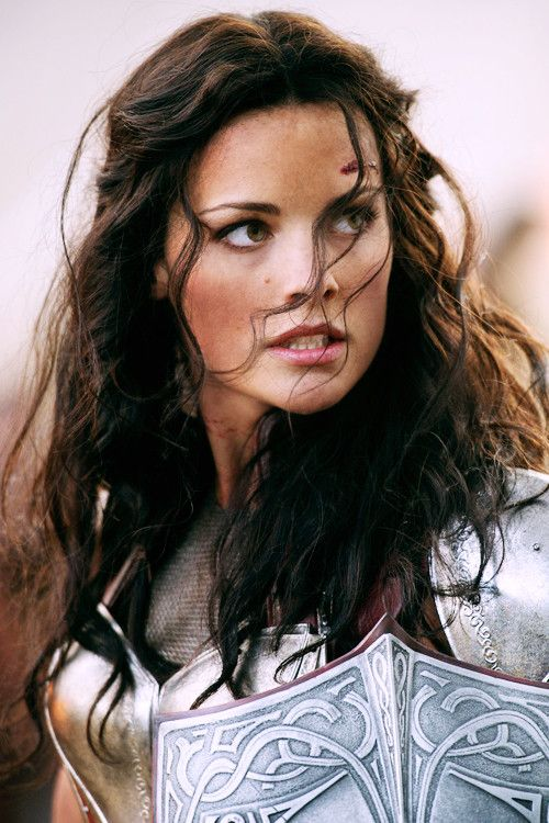 Jaimie Alexander-- still counts for eye cendy, even though she's not a man!