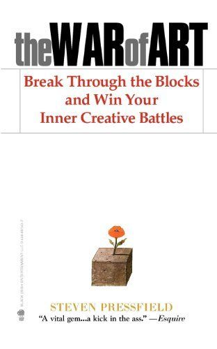 The War of Art: Break Through the Blocks and Win Your Inner Creative Battles von Shawn Coyne, http://www.amazon.de/dp/1936891026/ref=cm_sw_r_pi_dp_-Nj1rb07MRJTQ