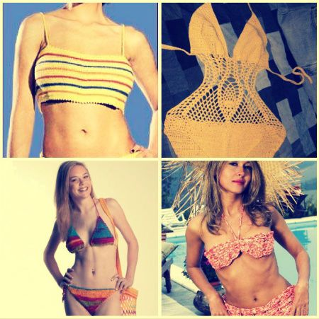 Ten Steamy Hot Free Crochet Patterns for Swimsuits