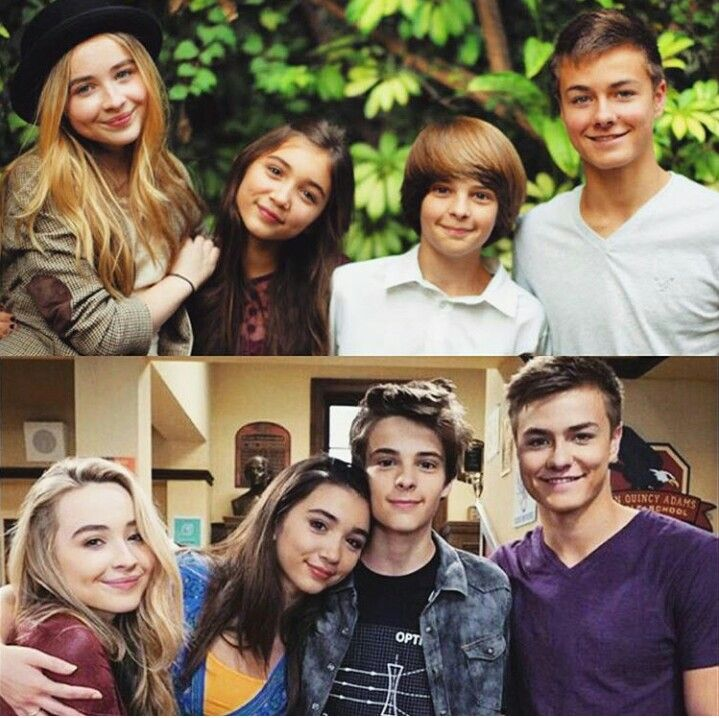 Times gone so fast  Was anyone else a wreck watching girl meets sweeet 16!