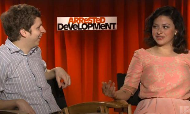 "Michael Cera and Alia Shawkat discuss sex and awkward love in ""Arrested Development"" season 4"