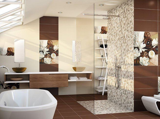 Plat de dutxa i revestiment del mateix fet amb malla de for Faience salle de bain tunisie