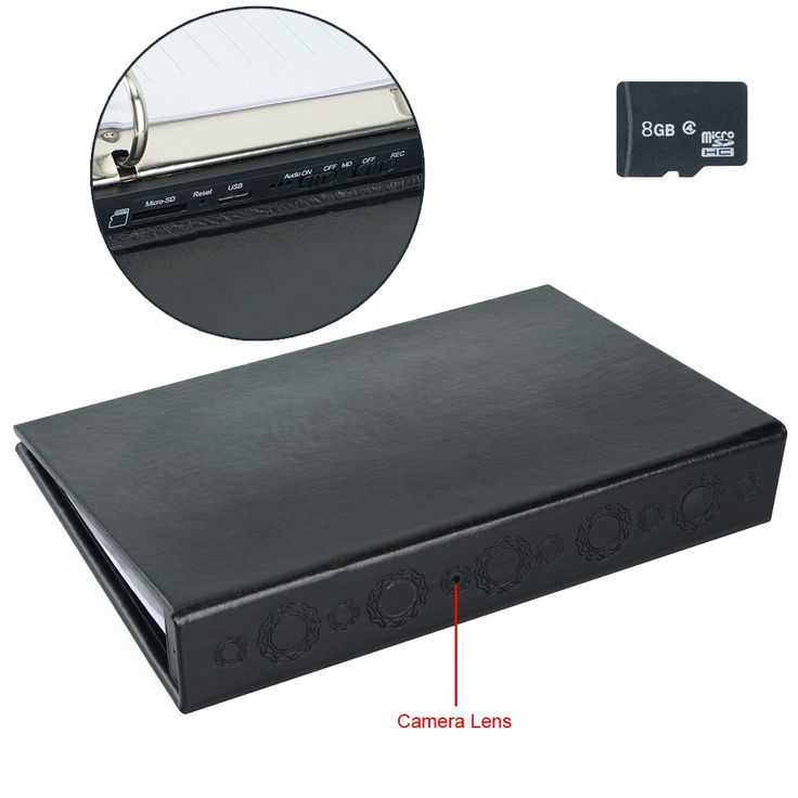 $112 Wiseup 8GB 1920x1080P Indoor Pinhole Spy Camera Book #camera #book