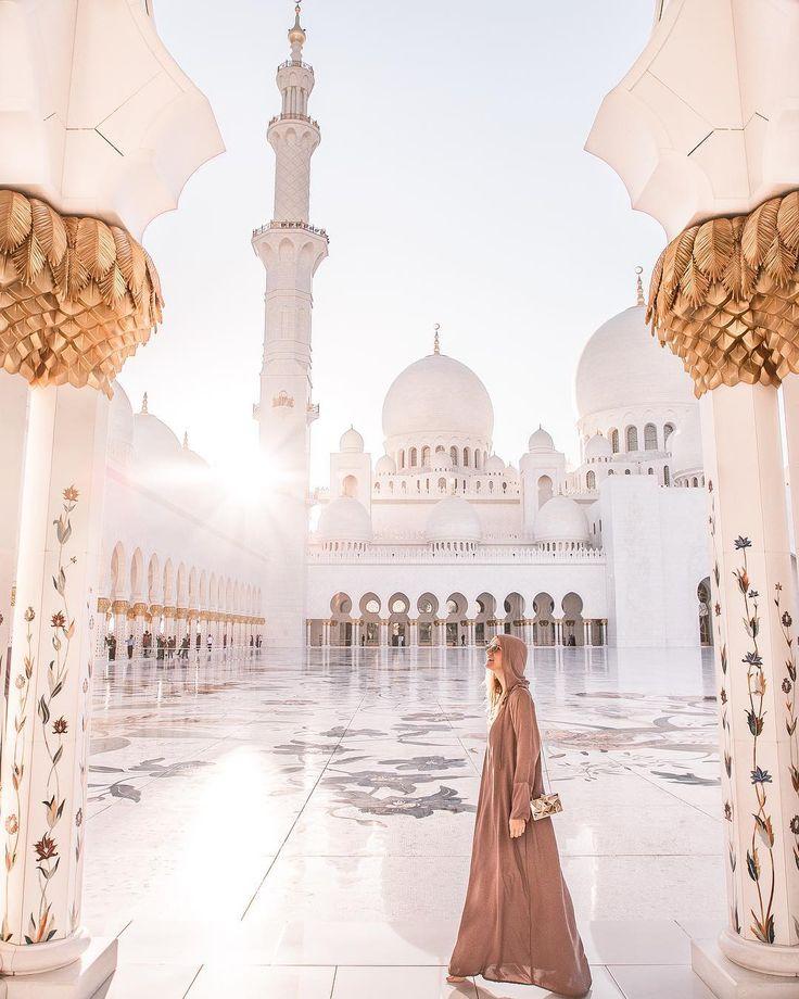Sheikh Zayed Mosque, Abu Dhabi, United Arab Emirates, UAE