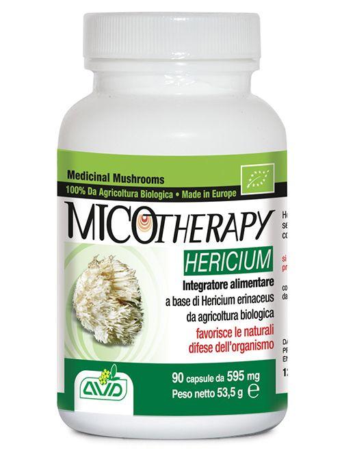 """Integratore alimentare a base di Hericium erinaceus da agricoltura biologica (SI-EKO-001)  - Made in Europe. Utile nel favorire il mantenimento delle normali funzioni cognitive. Chiamato anche """"Lion's mane"""" (criniera di leone) o """"Monkey's mushroom"""" (fungo della scimmia), l'Hericium è considerato tradizionalmente il fungo dell'apparato digerente e del sistema nervoso."""