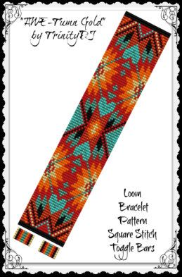 BP-LOOM-032  Awe-Tumn Gold  Loom/Square Stitch por TrinityDJ