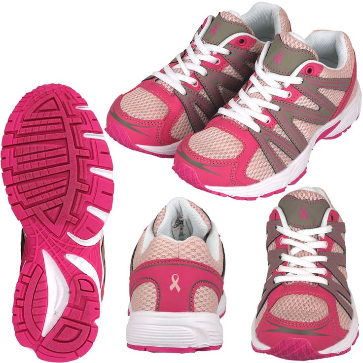 Pink Ribbon Walking Shoes at The Breast Cancer Site