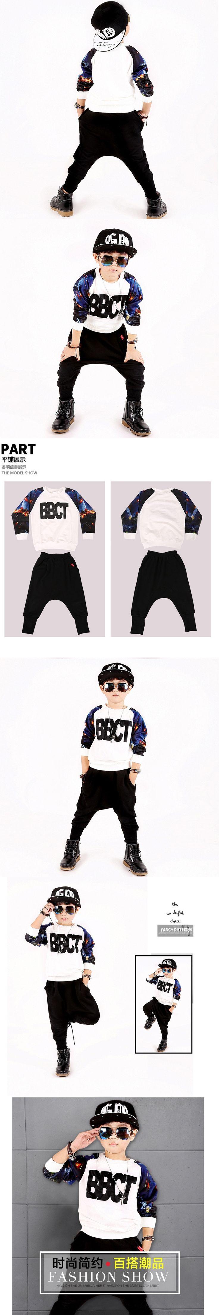 2017 Spring Kids Clothes Boys 2 Piece Sets Fashion Children Tracksuit For Boy Vetement Garcon Autumn Big Boy Clothing Sets