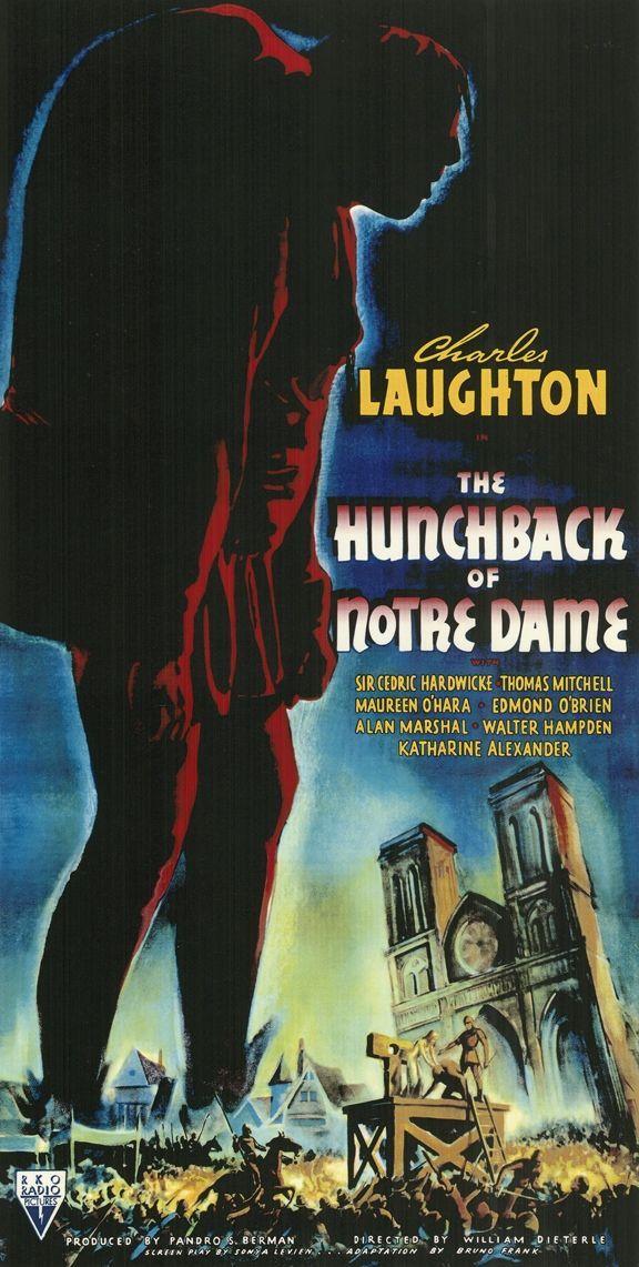 Image result for Hunchback of Notre Dame 1939 poster
