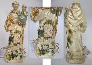 Crendo Artes: Santo Antônio Gaucho - Técnica Decoupage