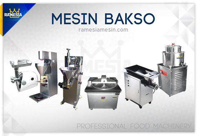 Mesin Bakso Ramesia murah dan berkualitas bagus cocok untuk yang mau memulai usaha kuliner bakso