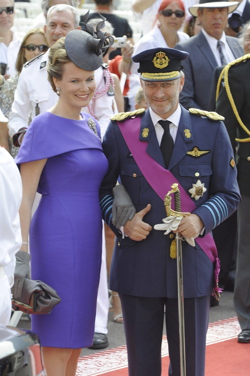 Duke and Duchess of Brabant at wedding of Albert & Charlene