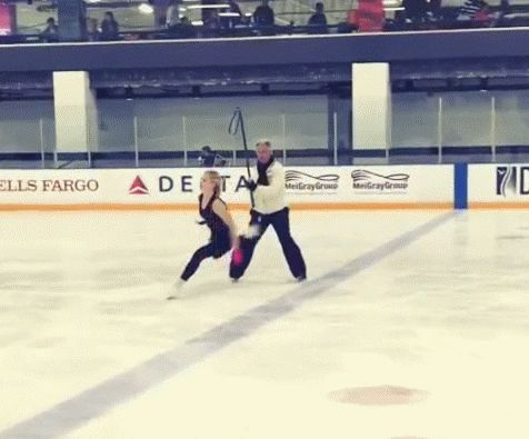 Ok I don't mean to be rude but I feel like this needs to be addressed. To all the people who DON'T think figure skating is a sport, does your sport do this?