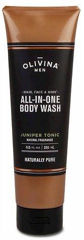 OLIVINA MEN Juniper Tonic All-in-One Body Wash - 8.5oz