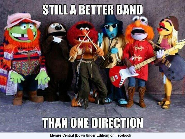 I cant help it!  Muppets rule!