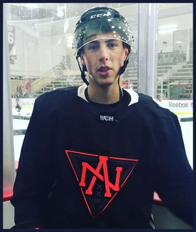 Ryan Nugent-Hopkins / Team North America black jersey. 2 minutes for lookin' so good!