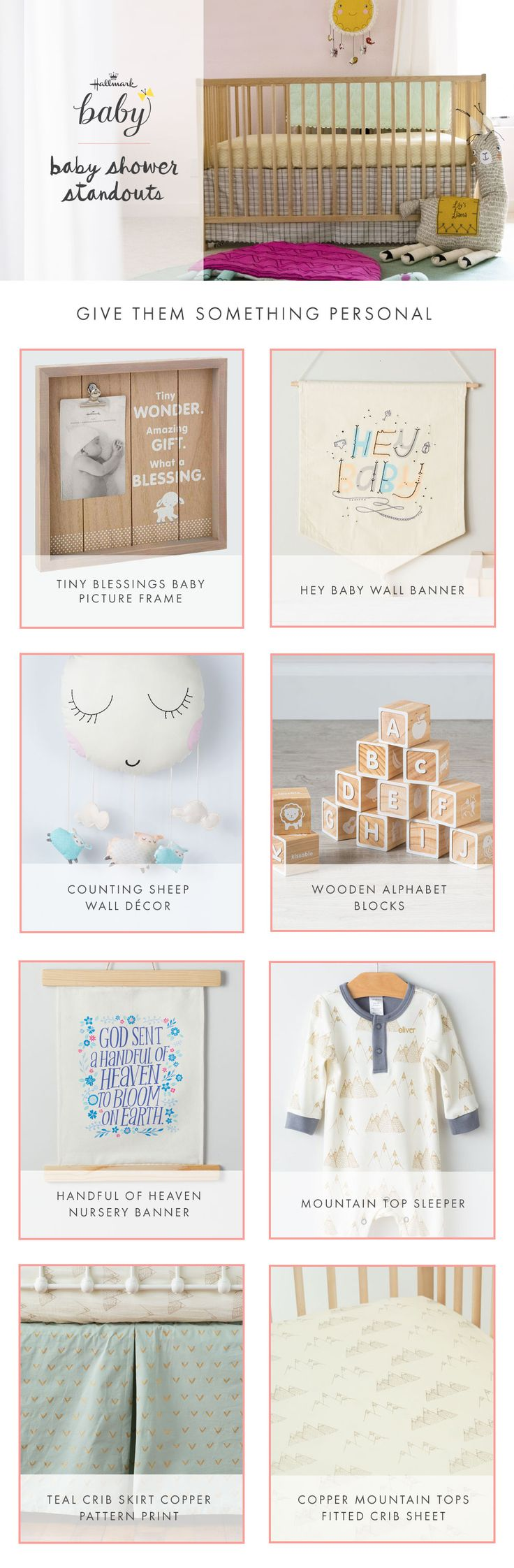 Best 25 hallmark baby ideas on pinterest baby girl outfits the perfect and personal baby shower gifts that will sure to be a standout present negle Gallery