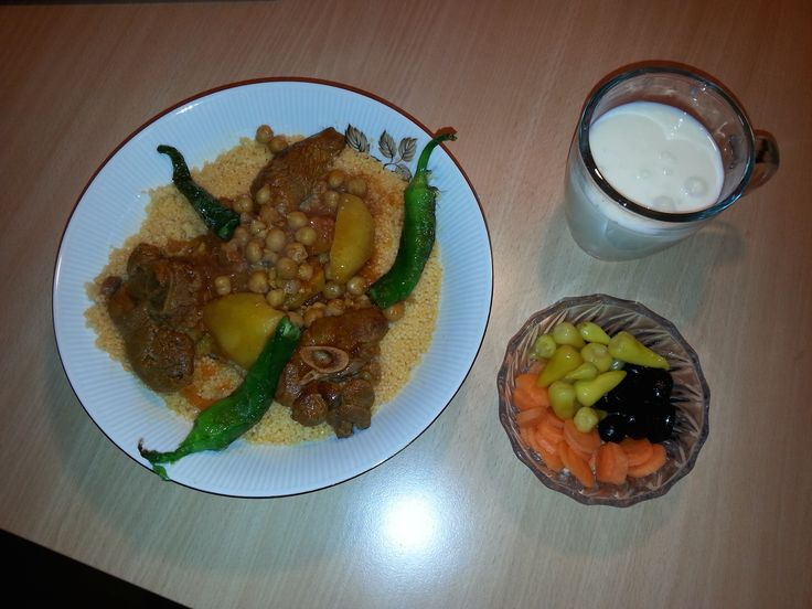 couscous and Butter milk