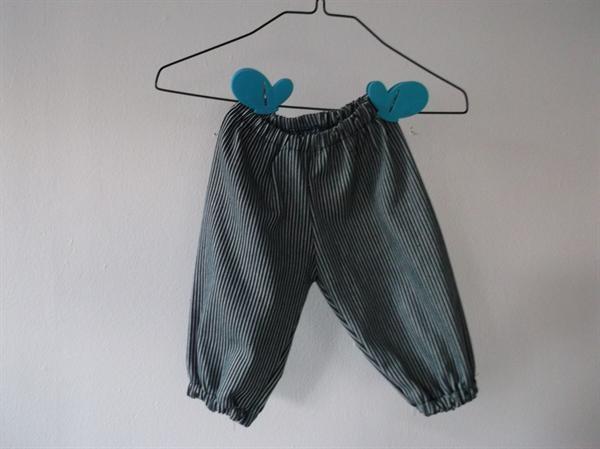 Bukser med elastik i taljen