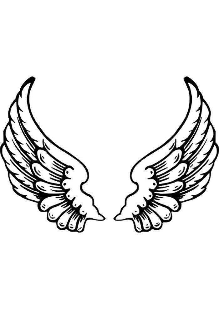 Angel Wings Coloring Page 24 Angel Coloring Pages Angel Coloring Pages Black Angel Wings Free Clip Art